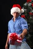 快活的圣诞节 库存照片