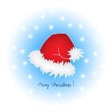 快活盖帽的圣诞节 皇族释放例证