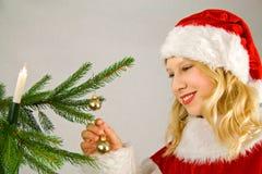 快活看板卡的圣诞节 库存照片