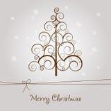 快活看板卡的圣诞节 免版税库存照片