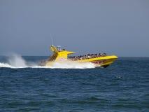 快艇乘驾海洋城市马里兰 免版税库存图片