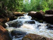 快速山河 库存图片