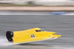 快速快速汽艇赛跑 库存照片