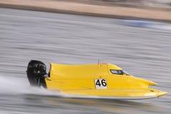 快速快速汽艇赛跑 图库摄影