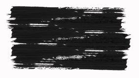 快速的Сhanging抽象画笔构筑与阿尔法通道透明度的组装 向量例证