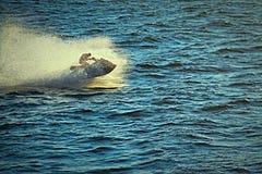 快速的喷气机滑雪 免版税图库摄影