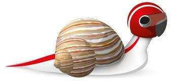 快速蜗牛   免版税图库摄影