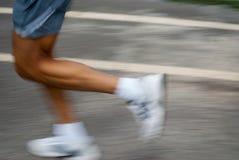 快速跑步 免版税库存图片