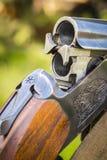 快门狩猎步枪 免版税库存照片