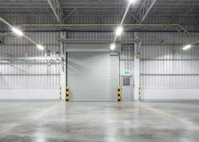 快门门和地板 免版税图库摄影