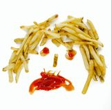 快餐健康概念图象 库存图片