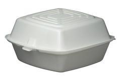 快餐容器 免版税库存图片