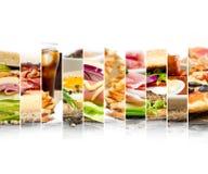 快餐混合 图库摄影