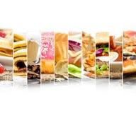 快餐混合 免版税库存图片
