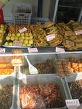 快餐韩国北部平壤街道贸易 库存图片