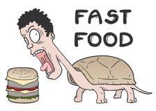 快餐 向量例证