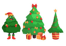 快活圣诞节的例证 库存图片