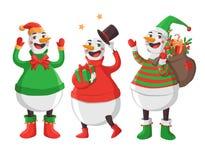 快活圣诞节的例证 免版税库存照片