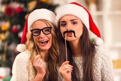 快活庆祝的圣诞节 库存图片