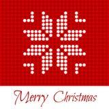 快活的圣诞节 2007个看板卡招呼的新年好 库存图片