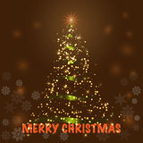 快活背景的圣诞节 库存照片