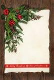 快活边界的圣诞节 免版税库存照片