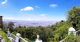忽略哥伦比亚的风景 免版税库存图片