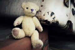 怀乡玩具熊 免版税库存照片