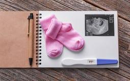 怀孕日志  仍然1寿命 免版税库存照片