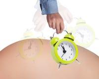 怀孕概念 库存照片
