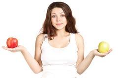 怀孕的苹果 免版税库存图片