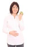 怀孕的饮食 免版税图库摄影