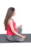 怀孕的锻炼 图库摄影