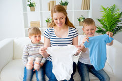 怀孕系列的母亲 库存图片