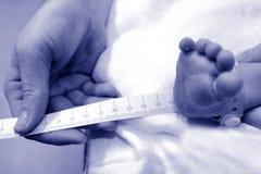 怀孕-新出生的婴孩 库存照片