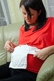 怀孕 免版税图库摄影