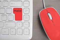怀恨在心者的键盘 免版税图库摄影