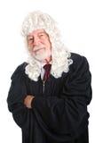 怀疑英国的法官- 库存图片