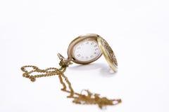 怀表的照片例证,时间概念 免版税图库摄影