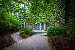 怀雅逊大学的克尔霍尔,多伦多,安大略 免版税库存照片
