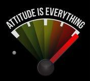 态度是一切标志标志概念 向量例证