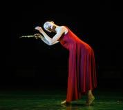 思想家现代舞蹈 免版税库存照片