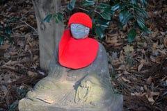 思考的菩萨雕象在东京 免版税库存照片