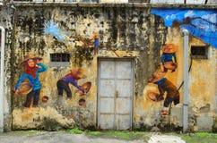 怡保,马来西亚遗产-怡保是一个城市在马来西亚,大约200km在吉隆坡北部 免版税库存图片