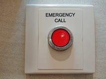 紧急按钮 免版税库存图片