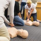 急救CPR研讨会 免版税库存图片