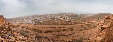 急流在Mirleft,摩洛哥增长 免版税库存照片