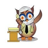紧急状态博士猫头鹰电话 免版税库存图片