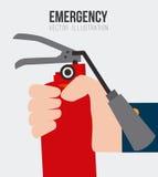 紧急设计,传染媒介例证 向量例证