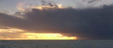 急风在英吉利海峡 图库摄影